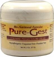 Bio-Nutritional Formulas Pure-Gest Feminine Progesterone Fragrance-Free Cream