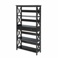 Oxford 5 Tier Bookcase with Drawer - 1
