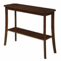Convenience Concepts Designs2Go Baja Console Table in Espresso Wood Finish - 1