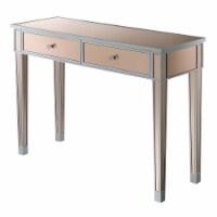 Gold Coast Mirrored Desk - 1
