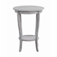 American Heritage Round End Table - 1