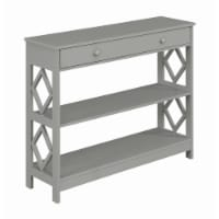 Diamond 1 Drawer Console Table - 1