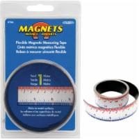Master Magnetics 3 Ft. Flexible Measuring Tape 07286 - 1