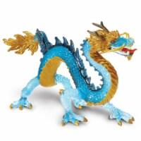 Krystal Blue Dragon Fantasy Safari Ltd - 1 Unit