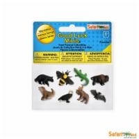 Wild America Fun Pack Mini Good Luck Figures Safari Ltd - 1 Unit