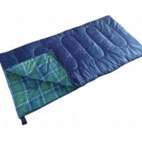 Kamp-Rite Tent Cot Inc Sleeping Bag,Blue,Polyester,5 lb.,25F  SB271 - 1