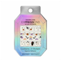 Dashing Diva Expressions 3D Nail Stickers - Ghost Story - 1 ct