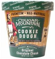 Cougar Mountain Original Chocolate Chunk Premium Cookie Dough - 16 oz