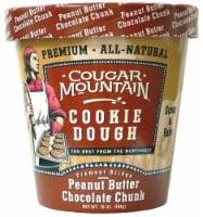 Cougar Mountain Peanut Butter Chocolate Chunk Premium Cookie Dough - 16 oz