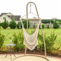 Castaway Hammock Single Swing Macrame