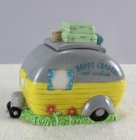 Happy Camper Cookie Jar