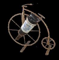 Metal Bike Wine Holder