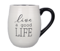"""Live A Good Life"" 4PC. Mug Set"