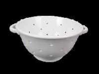 Ceramic White Colander