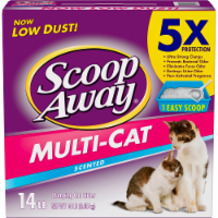 Scoop Away Multi-Cat Scented Clumping Cat Litter