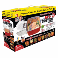 Red Copper® Square Pan Set - Red