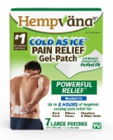 Hempvana Cold As Ice Large Pain Relief Patches
