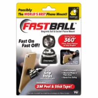BulbHead Fastball Magnetic Ball and Socket Phone Mount - Black/Silver