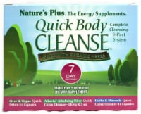 Nature's Plus Organic Quick Body Cleanse 7 Day Program