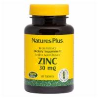 Natures Plus Zinc Tablets 30mg
