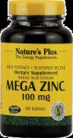 Natures Plus Mega Zinc - 90 Count