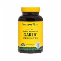 Nature's Plus Garlic & Parsley Oil - 180 ct