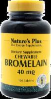Nature's Plus Chewable Bromelain 40 Mg
