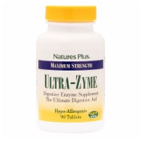 Nature's Plus Maximum Strength Ultra-Zyme Digestive Aid Tablets