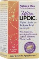 Nature's Plus  Ultra Lipoic™ Alpha Lipoic and R-Lipoic Acid - 30 Tablets