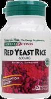 Nature's Plus Red Yeast Rice Capsules 600 mg - 60 ct