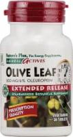 Nature's Plus Herbal Actives Olive Leaf Tablets 500 mg - 30 ct