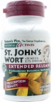 Nature's Plus Herbal Actives St John's Wort Tablets - 60 ct