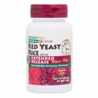 Natures Plus Herbal Actives Red Yeast Rice Mini-Tablets 600mg - 60 ct