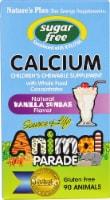 Nature's Plus  Animal Parade® Childrens Sugar Free Calcium   Vanilla Sundae - 90 Chewable Tablets