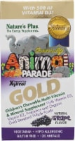 Nature's Plus  Animal Parade® Gold Children's Chewable Multi-Vitamin and Mineral   Grape - 120 Chewables