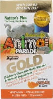 Nature's Plus  Animal Parade® Gold Children's Chewable Multi-Vitamin and Mineral   Orange - 120 Chewables