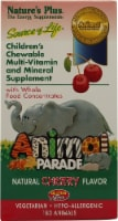 Nature's Plus  Animal Parade® Children's Chewable Multi-Vitamin and Mineral   Cherry