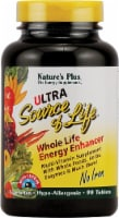 Nature's Plus Ultra Source of Life Whole Life Energy Enhancer with Lutein Tablets 90 Count