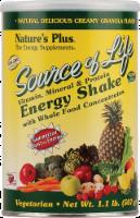 Nature's Plus Source Of Life Creamy Granola Energy Shake Powder