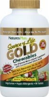 Natures Plus Source of Life GOLD Chewable Tropical Fruit Multi-Vitamin - 90 ct