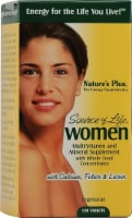 Nature's Plus  Source of Life® Women Multi-Vitamin and Mineral - 120 Tablets