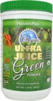 Nature's Plus Organic Ultra Juice Green Powder