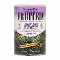 Natures Plus Vegetarian Fruitein Acai High Protein Energy Shake - 1.2 lb