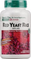 Nature's Plus Herbal Actives Red Yeast Rice Capsules 600mg Supplements - 120 ct