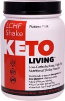 Natures Plus  Keto Living™ LCHF Shake   Chocolate - 15 Servings