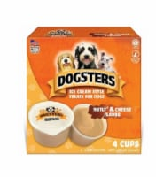 Dogsters Nutly & Cheese Flavor Ice Cream Style Dog Treats
