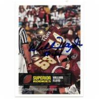 Athlon Sports CTBL-022465 William Floyd signed Florida State Seminoles 1994 Superior Rookies - 1