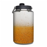 DecalGirl YOG-ALE Yeti Rambler 1 gal Jug Skin - Beer Bubbles - 1