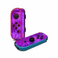 DecalGirl NJC-PUNCH-PRP Nintendo Joy-Con Controller Skin - Purple Punch - 1