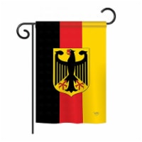 Breeze Decor BD-CY-GS-108085-IP-BO-D-US13-BD 13 x 18.5 in. Germany Flags of the World Nationa - 1